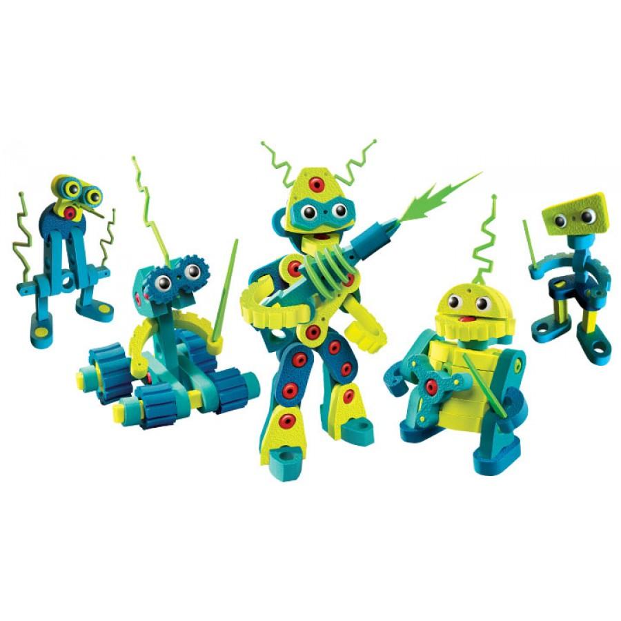 robot invasion wall e julie jouets jouet enfant garcon construction lego jeu contruire 4 5 6 7 8. Black Bedroom Furniture Sets. Home Design Ideas