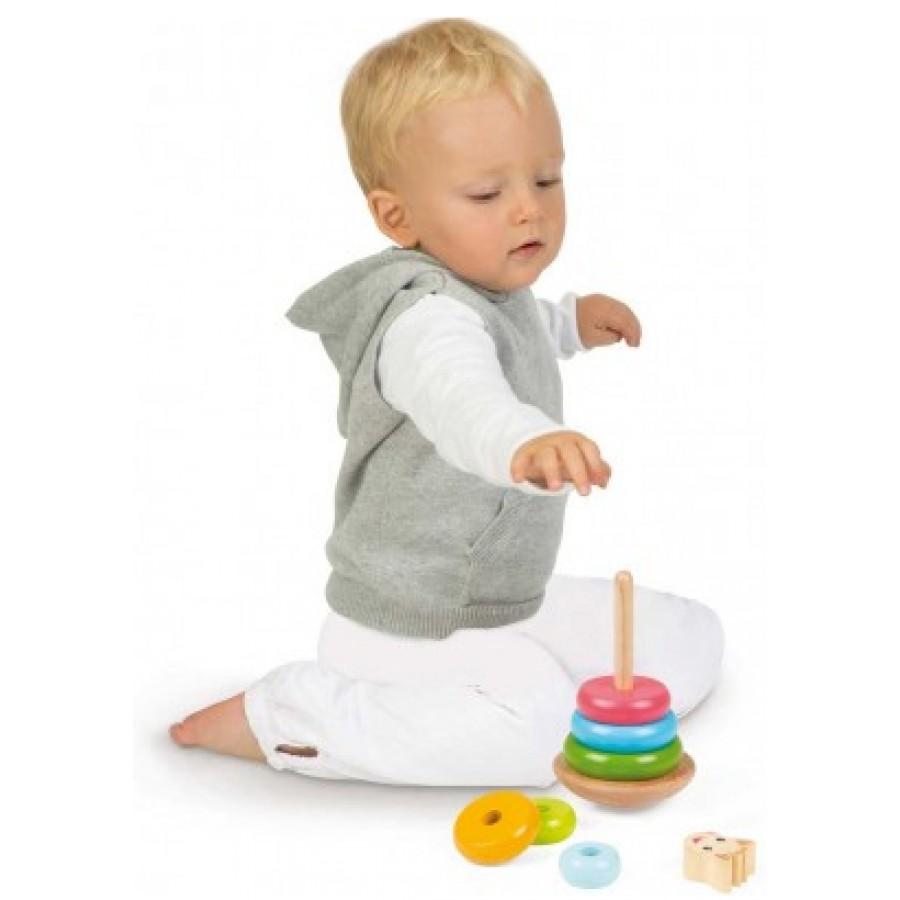 Sophie girafe anneaux empilable jouet bebes fille garcon - Jouet enfant 1 ans ...