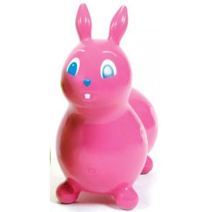 raffy le lapin sauteur rose ballon sauteur gonfler. Black Bedroom Furniture Sets. Home Design Ideas