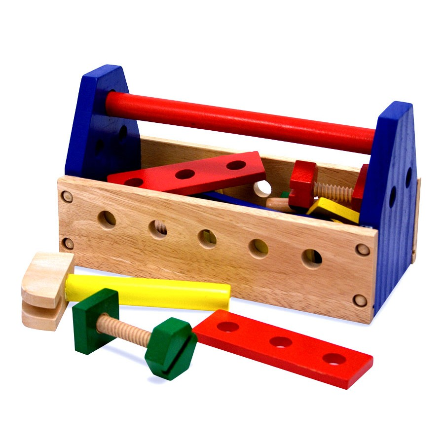 Boite coffre a outils petits garcons touts enfants julie for Cuisine boite a outils