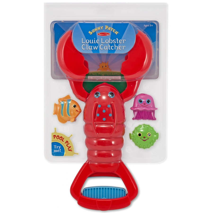 Louie Lobster Claw Catcher Pool Toy - Melissa & Doug