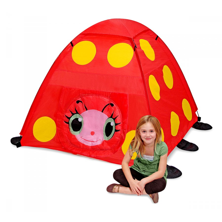 tente coccinelle rouge enfants camping exterieur interieur jeux. Black Bedroom Furniture Sets. Home Design Ideas