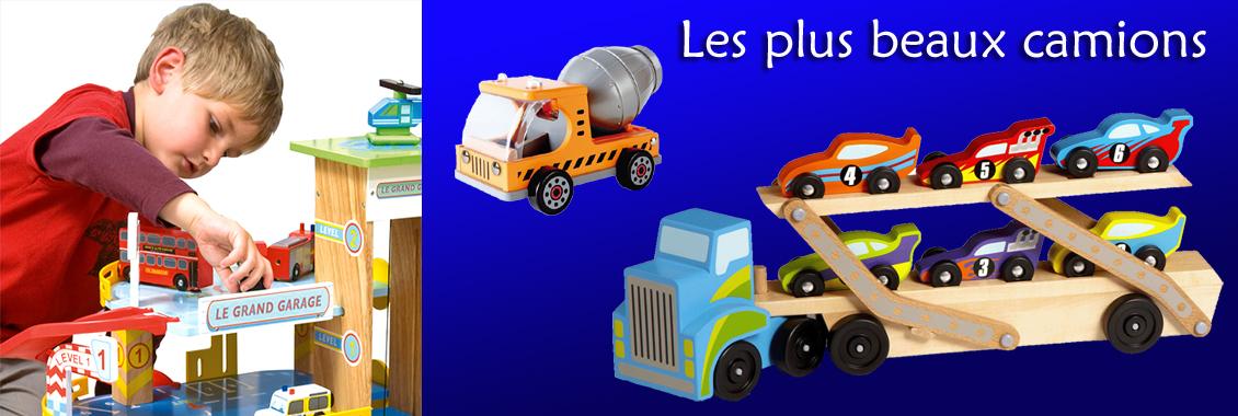 Camions et garages