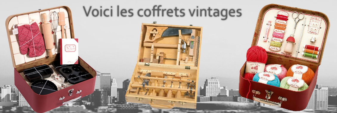 Coffrets vintage