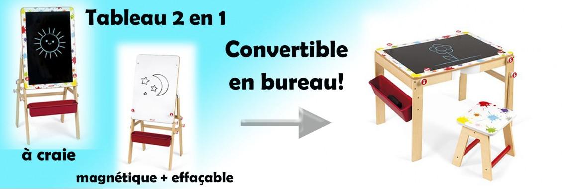 Tableau convertible 2 en 1