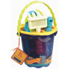 Blue Bucket and Accessories