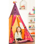 Tipi rose et orange