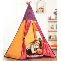 Pink and orange Teepee