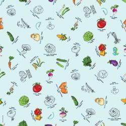 Nappe à colorier - Légumes