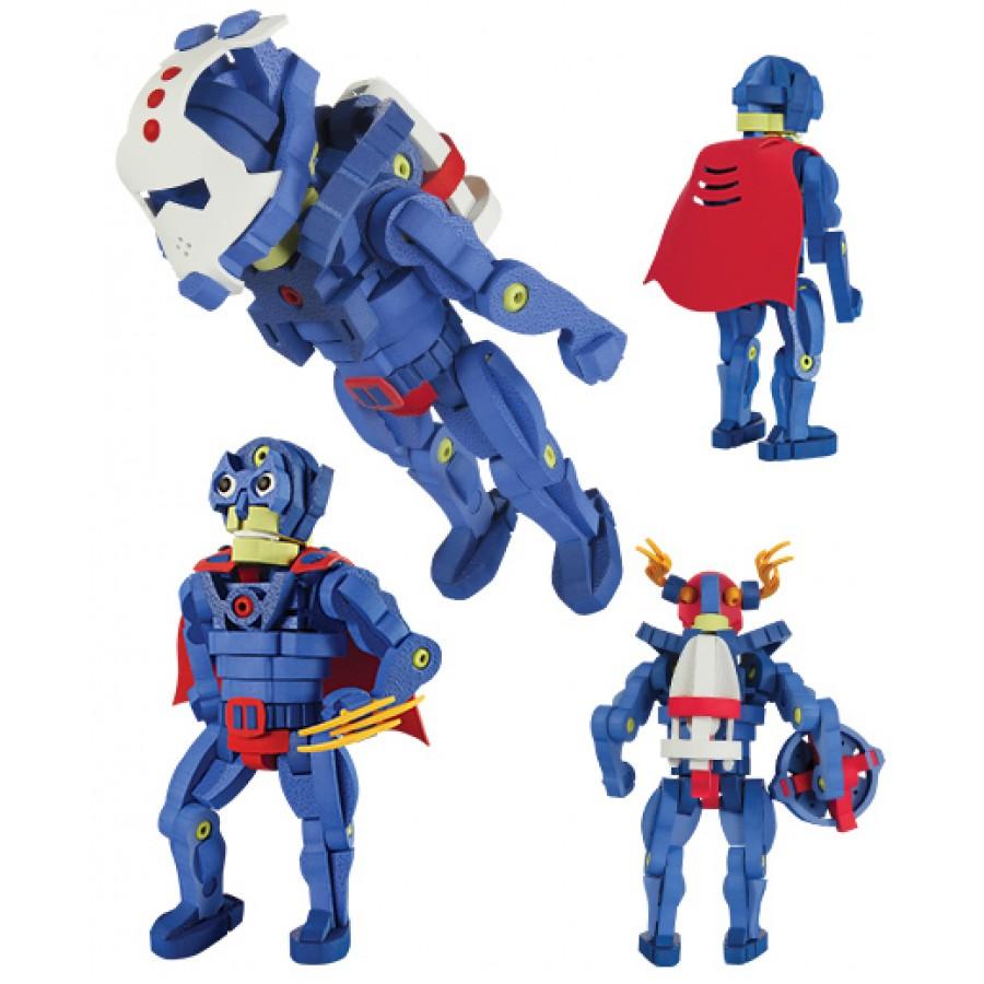 Build-you-own SuperHero, Bloco, bot, robot, humanoid, mutant