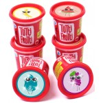 Tutti-Frutti - Scented Modeling Dough 6 sparkly packs Fruity Scents