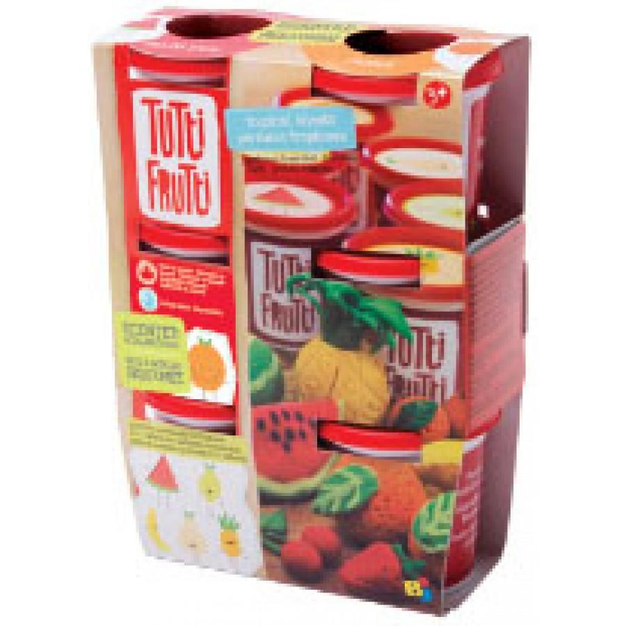 Pâte à Modeler 6 Pots Parfums De Fruits Tutti Frutti Fait Au