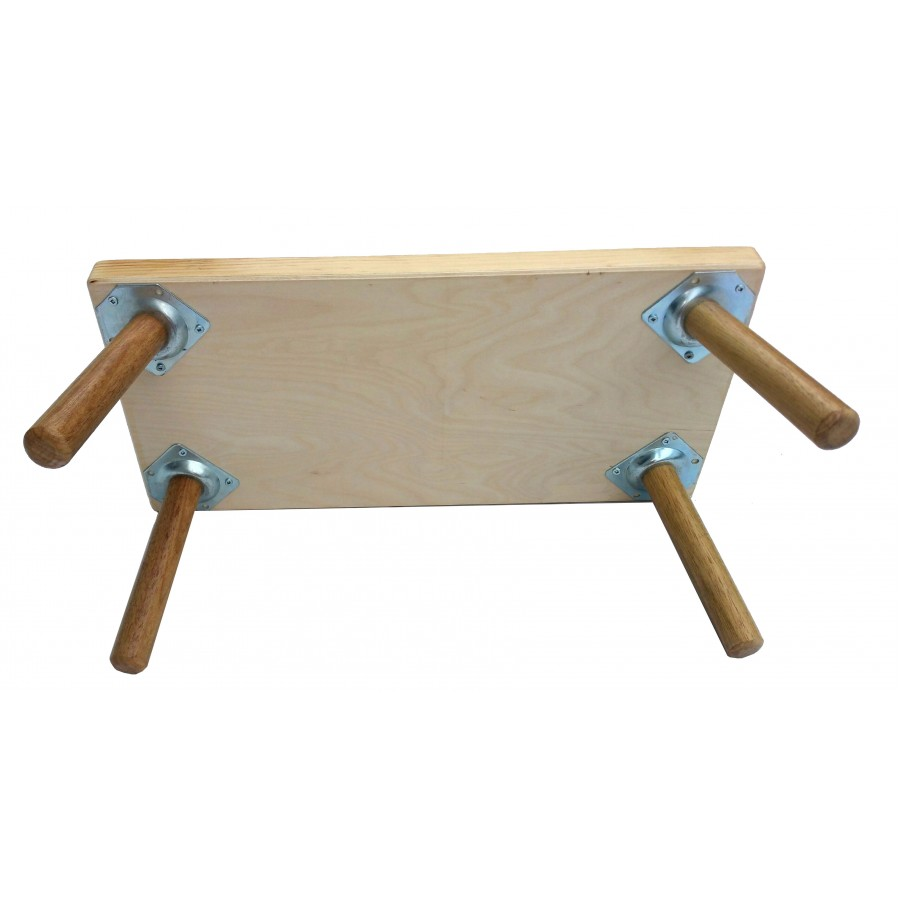 petit banc personnalis en bois multicolore marchepied tabouret fait au qu bec chaise. Black Bedroom Furniture Sets. Home Design Ideas