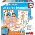 Let's learn The human body - Educa (French Only)