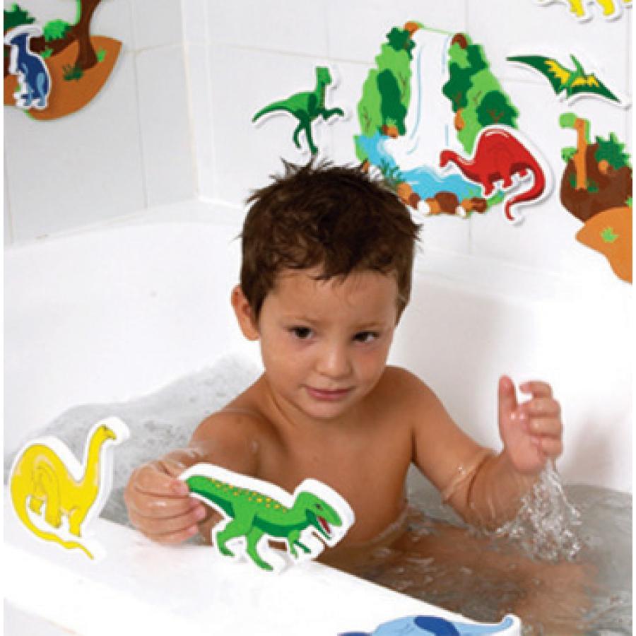 les dinosaures jouet de bain edushape jouets baignoire heure du bain tyrannosaure rex. Black Bedroom Furniture Sets. Home Design Ideas