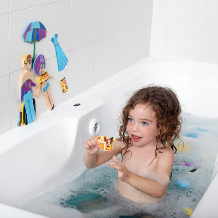 stylistes de mode jouet de bain edushape jouets de baignoire julie jouets enfants eau. Black Bedroom Furniture Sets. Home Design Ideas