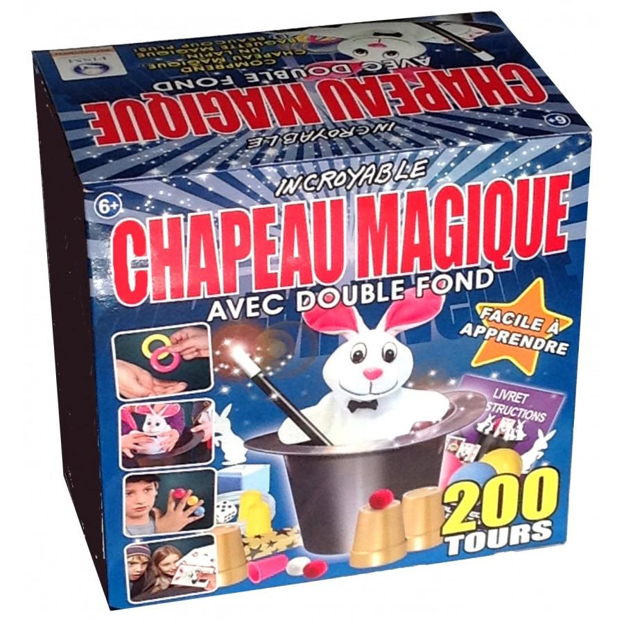 Chapeau magie 200 tours - Idee cadeau garcon 8 ans ...