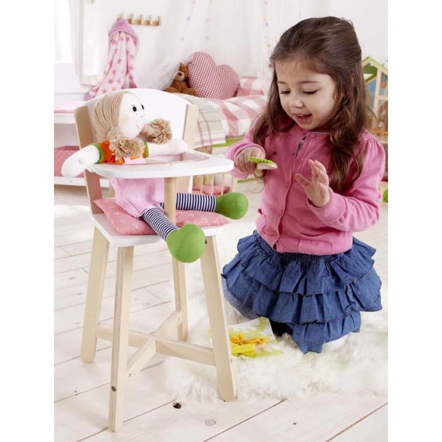 chaise haute pour b b en bois hape enfants jouet. Black Bedroom Furniture Sets. Home Design Ideas