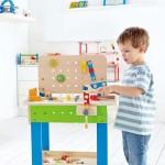 Établi en bois pour enfants
