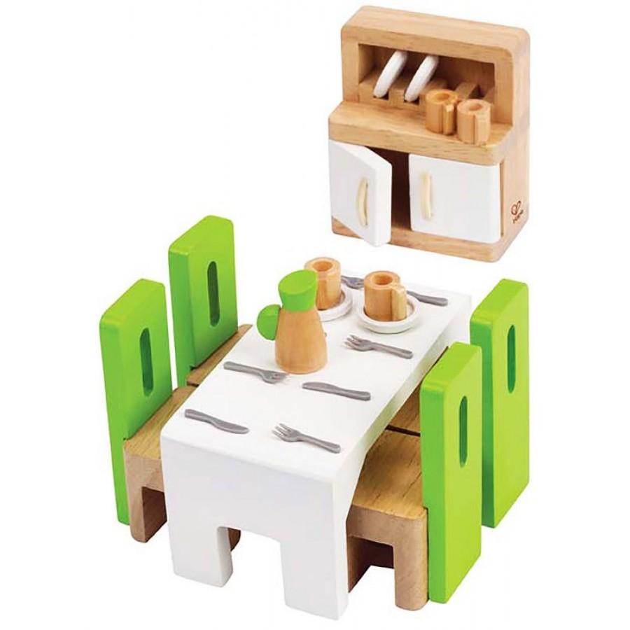 Meuble de salle manger pour maison de poup es hape for Petit meuble pour salle a manger