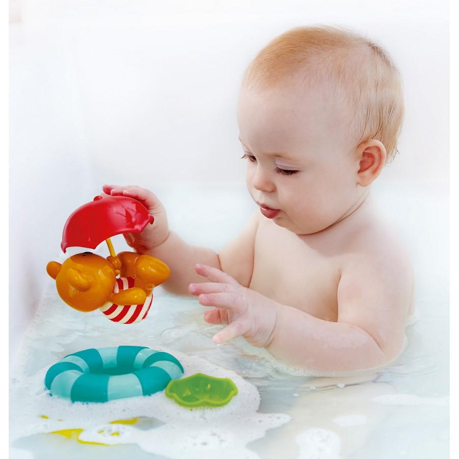 Parapluies empiler pour le bain hape eau jouet for Piscine enfant 3 ans