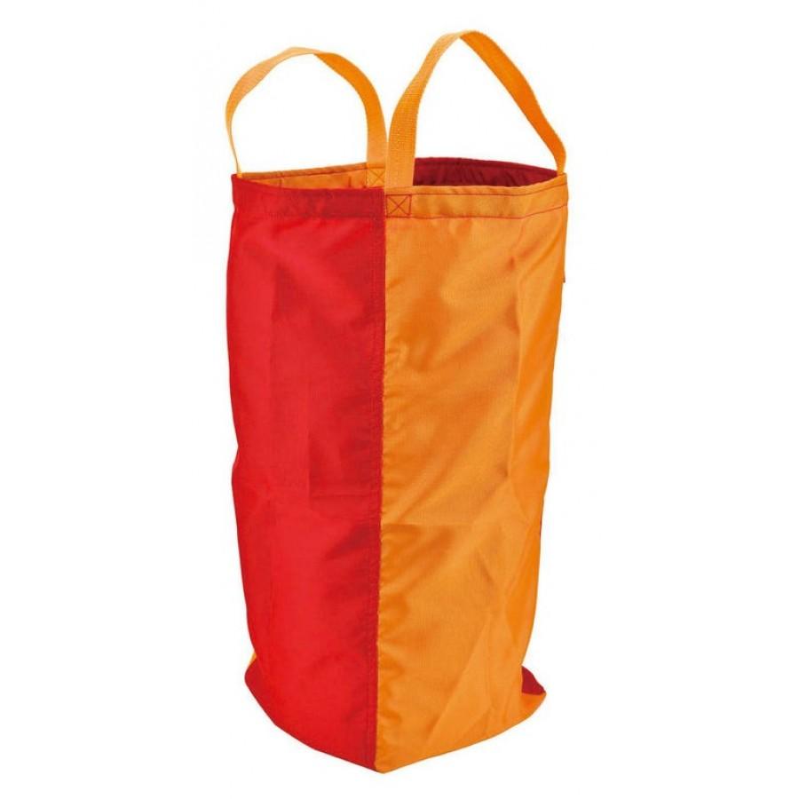 sacs de course pour sauter hape jeu rouge orange bleu poche patate tissu dynamique. Black Bedroom Furniture Sets. Home Design Ideas