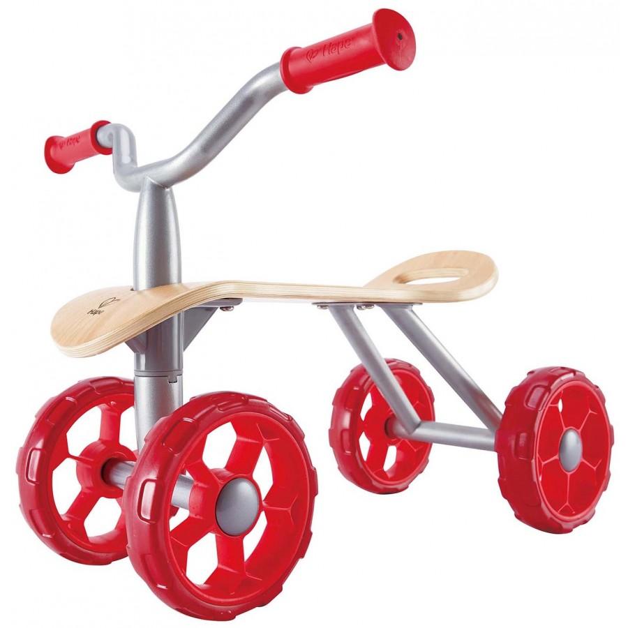Trotteur des pistes jouet en bois hape promener 4 for Jouet exterieur 1 an