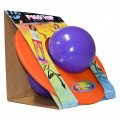 Purple and Orange Pogo Ball