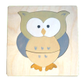 "Wooden puzzle ""The Owl"""