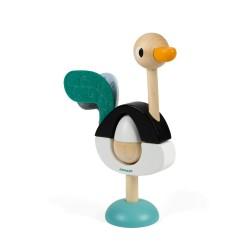 Autruche empilable zigolos jouets pour enfants en bois - Bebe autruche ...