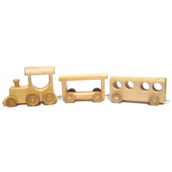 Handmand Wooden Train