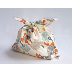 "Kids Bindle ""Forest Animals - Cream"""