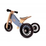Tricycle convertible 2 en 1 plus - Bleu ardoise