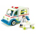 Ambulance Set with Doctor