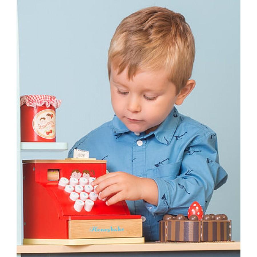 caisse enregistreuse rouge le toy van jouet fait en. Black Bedroom Furniture Sets. Home Design Ideas