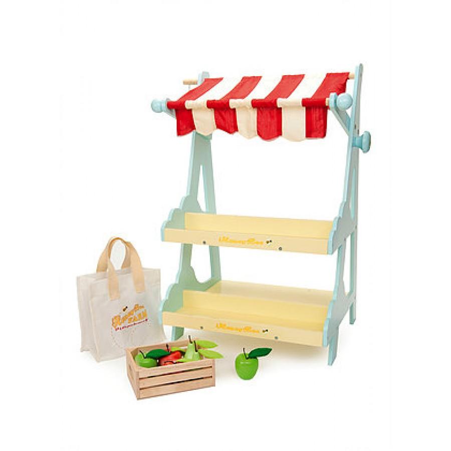 le petit march kiosque vente jouets en bois picerie. Black Bedroom Furniture Sets. Home Design Ideas