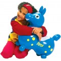 Rody The Blue Jumping Horse