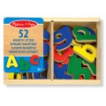 Wooden Letter Alphabet Magnets - Melissa & Doug
