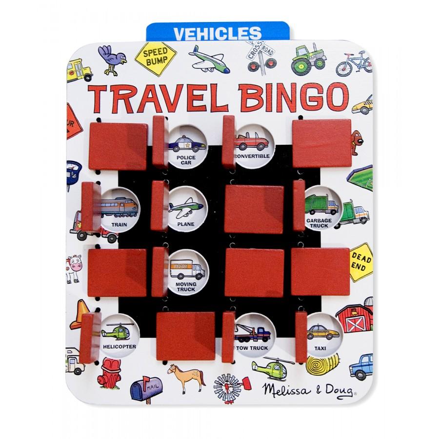 bingo de voyage jeux en voiture portatif compact portable avion jouet en bois amusant id e. Black Bedroom Furniture Sets. Home Design Ideas