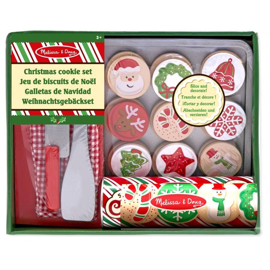 Biscuits De Noël à Couper Jouetsen Bois Cuisine Nourriture - Jeux de cuisine de noel