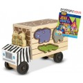 Animal Rescue Shape-Sorting Truck Wooden Toy - Melissa & Doug