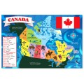 Giant Puzzle Canada Map