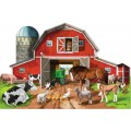 Busy Barn Floor Puzzle - 48 pieces