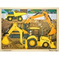 Diggers at work jigsaw - 24 pieces