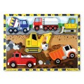 Chunky Puzzle Construction Trucks