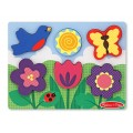 Chunky Puzzle Flower Garden