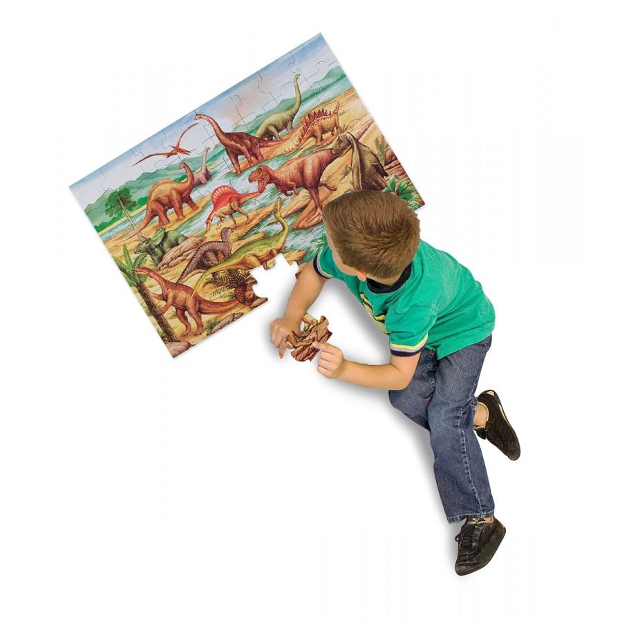 dinosaurs floor puzzle