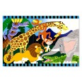 Safari Social Floor Puzzle - 24 Pieces - Melissa & Doug