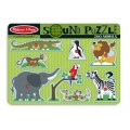 Casse-tête sonore - Les animaux du zoo