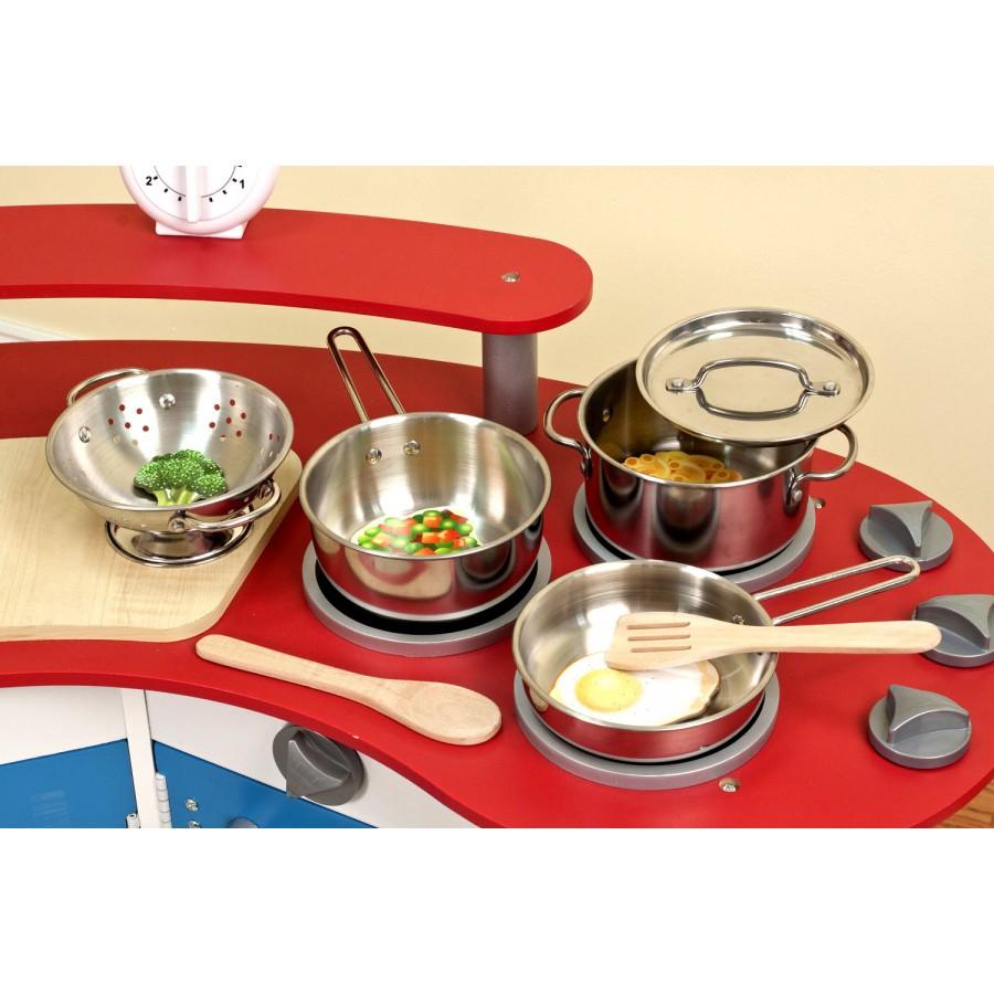 Casseroles et chaudrons pour enfants en acier inoxidable - Nettoyer exterieur casserole inox ...